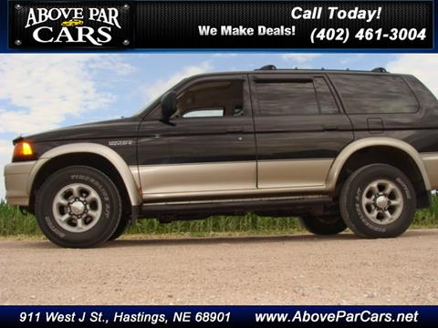 1997 Mitsubishi Montero Sport for sale in Hastings, NE