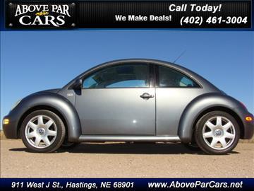 2002 Volkswagen New Beetle for sale in Hastings, NE