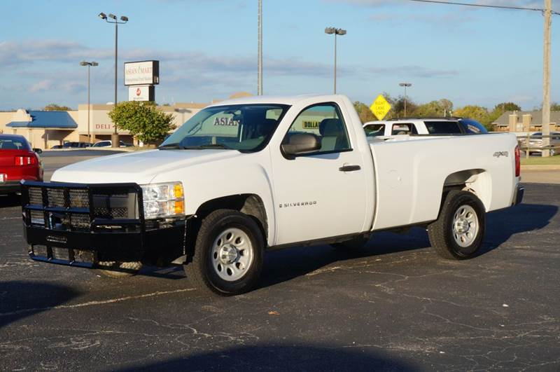 tulsa ok 2008 chevrolet silverado 1500 work truck used html autos post. Black Bedroom Furniture Sets. Home Design Ideas