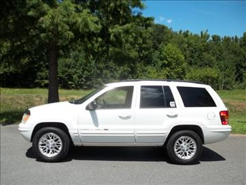 2002 Jeep Grand Cherokee for sale in Lancaster, SC