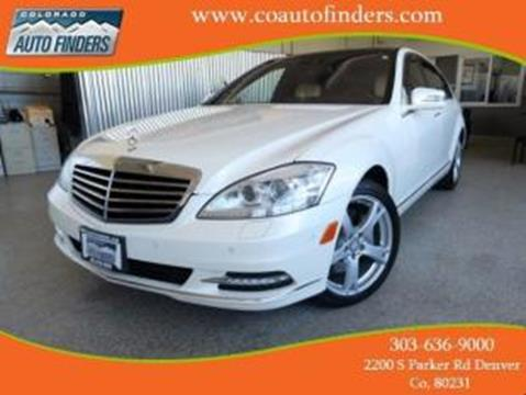 2011 Mercedes-Benz S-Class for sale in Denver, CO