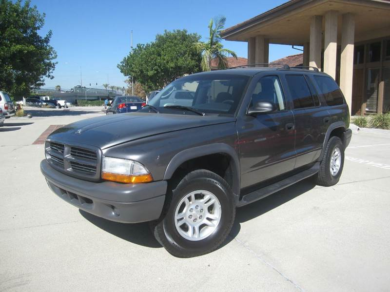 2003 dodge durango sxt 4wd 4dr suv in anaheim ca auto. Black Bedroom Furniture Sets. Home Design Ideas