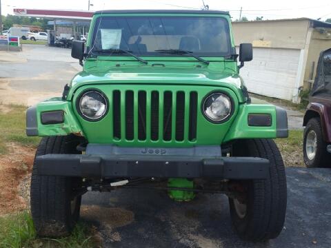 2004 Jeep Wrangler for sale in Grayson, GA