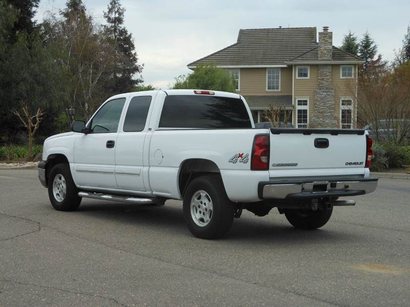 2004 chevrolet silverado 1500 4dr extended cab ls 4wd sb in riverbank near modesto ca. Black Bedroom Furniture Sets. Home Design Ideas