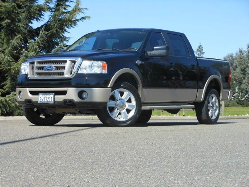 2008 ford f 150 4x4 king ranch 4dr supercrew styleside 6 5. Black Bedroom Furniture Sets. Home Design Ideas