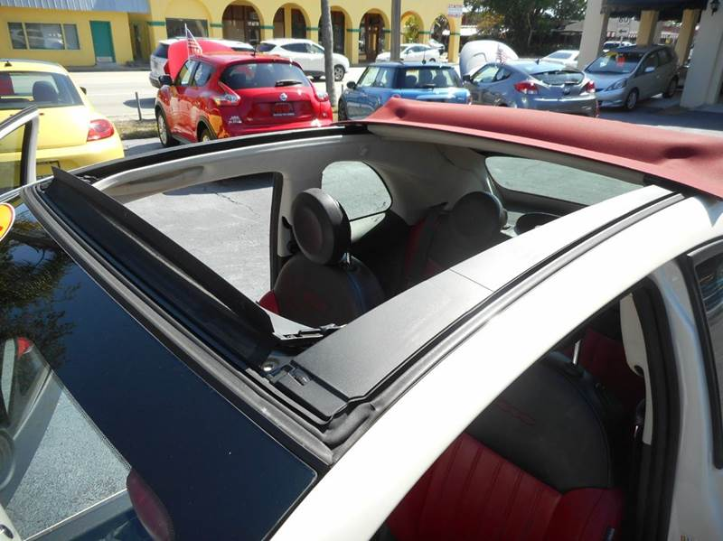 2013 FIAT 500c Lounge 2dr Convertible - Vero Beach FL