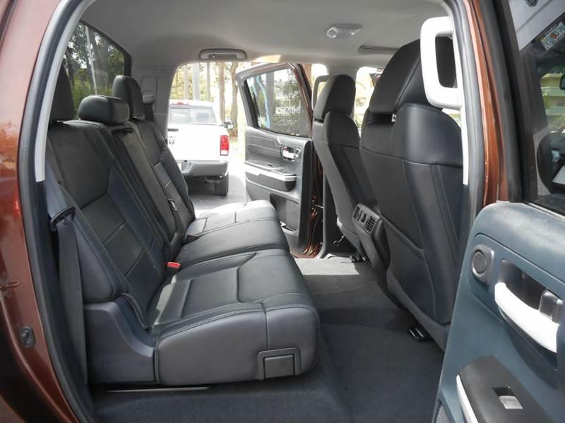 2015 Toyota Tundra 4x4 Limited 4dr CrewMax Cab Pickup SB (5.7L V8 FFV) - Vero Beach FL