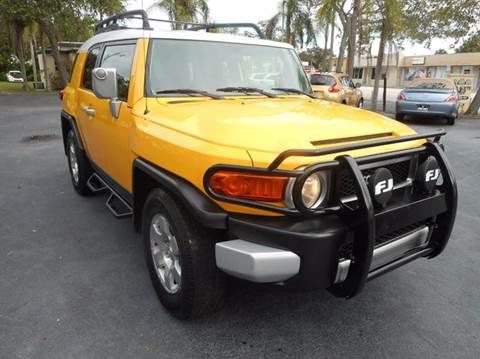 2007 Toyota FJ Cruiser for sale in Vero Beach, FL