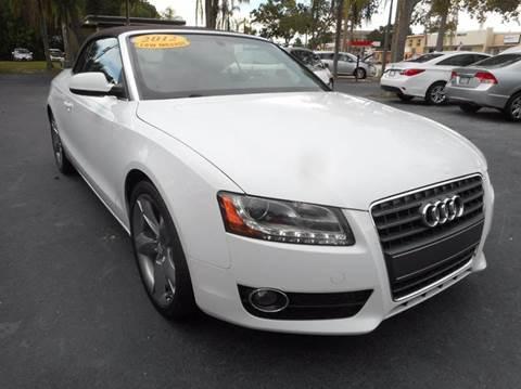 2012 Audi A5 for sale in Vero Beach, FL