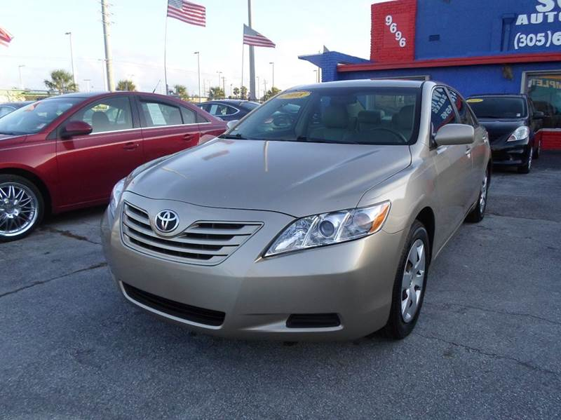 2008 toyota camry for sale in florida. Black Bedroom Furniture Sets. Home Design Ideas