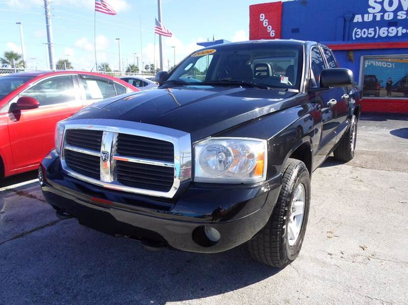 2006 dodge dakota slt 4dr quad cab sb in miami fl sowma. Black Bedroom Furniture Sets. Home Design Ideas