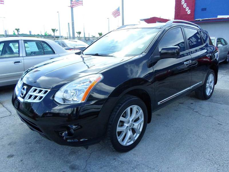 2012 nissan rogue sv w sl package 4dr crossover in miami. Black Bedroom Furniture Sets. Home Design Ideas