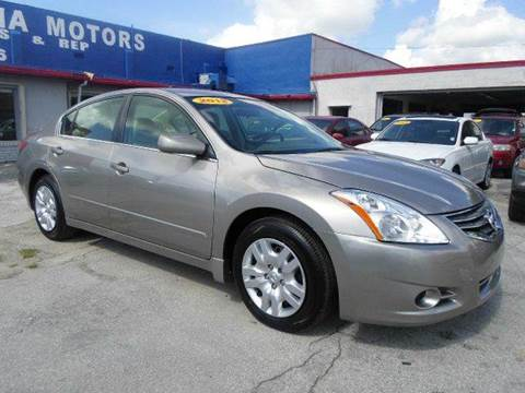 2012 nissan altima for sale in miami fl. Black Bedroom Furniture Sets. Home Design Ideas