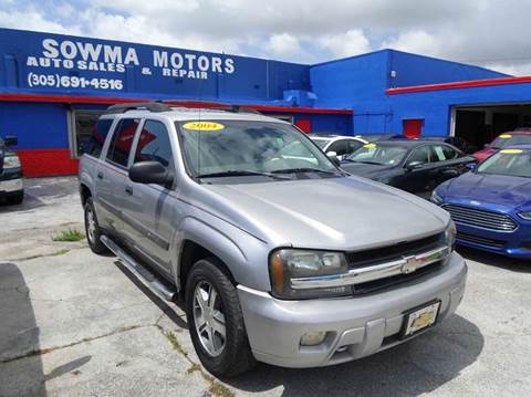 2004 Chevrolet TrailBlazer EXT for sale in Miami, FL