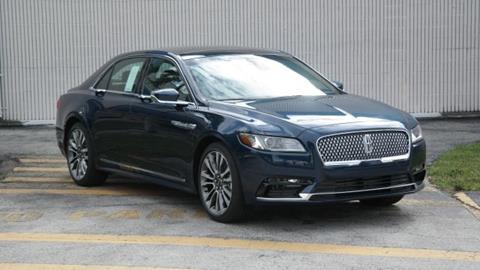 2017 Lincoln Continental for sale in Doral, FL
