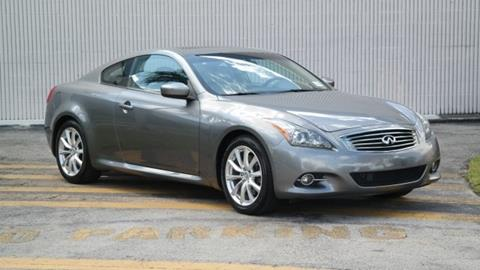 2011 Infiniti G37 Coupe for sale in Doral, FL