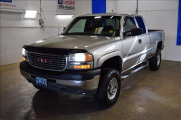 2001 GMC Sierra 2500HD for sale in Cottage Grove, OR