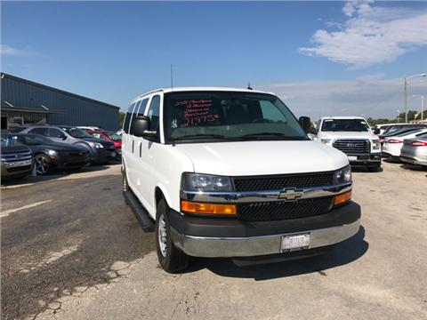 2015 Chevrolet Express Passenger for sale in Iola, KS