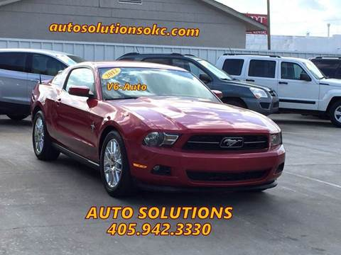 2012 Ford Mustang for sale in Oklahoma City, OK