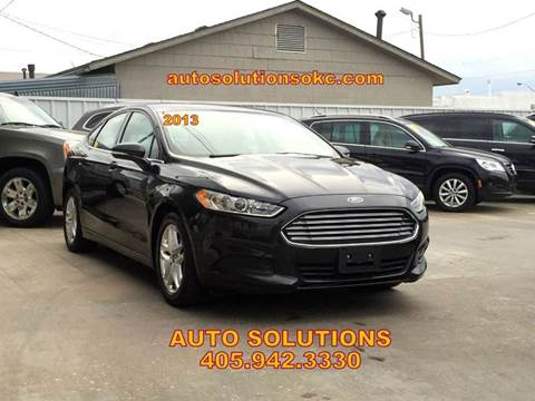 2013 Ford Fusion for sale in Oklahoma City, OK