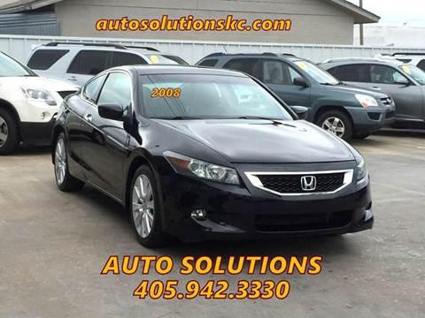 2008 Honda Accord for sale in Oklahoma City, OK