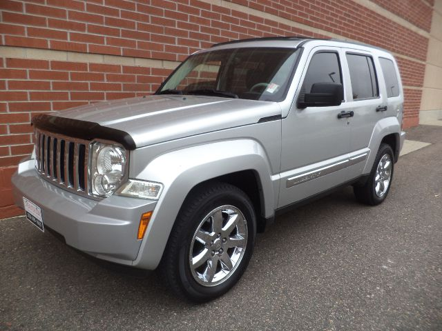 2008 JEEP LIBERTY LIMITED 4WD silver 2008 jeep liberty 4x4 v6 power seat power windows power mi