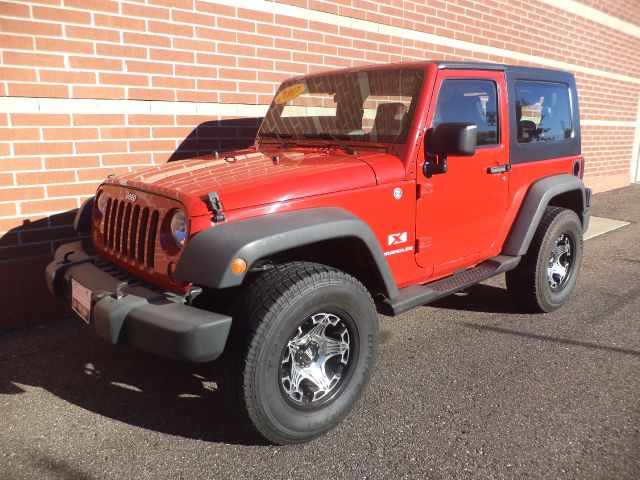 2007 JEEP WRANGLER SPORT 2-DR red this 2007 jeep wrangler hard top 2dr is a blast to drive  the h