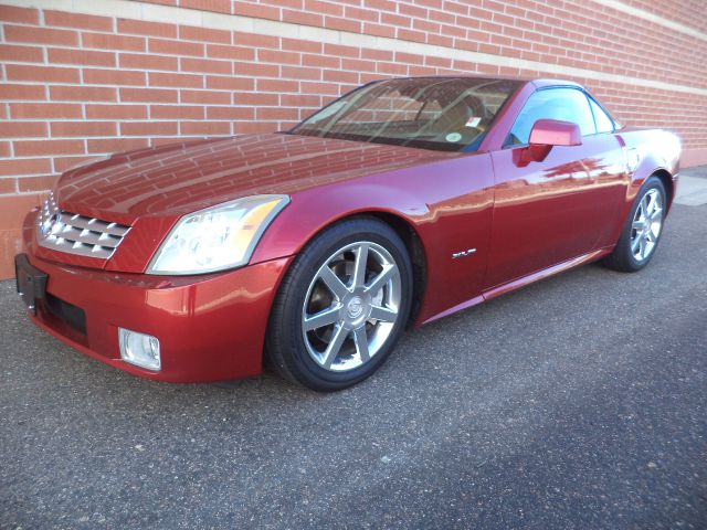 2004 CADILLAC XLR CONVERTIBLE red 2004 cadillac xlr 46l northstar v8 leather power seats power