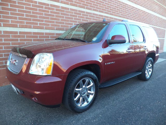 2008 GMC YUKON AWD maroon 2008 gmc yukon denali 62l v8 awd black leather power seats power mi