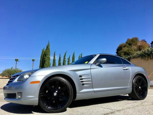 2004 CHRYSLER CROSSFIRE W SOUNDS SYSTEM gray abs - 4-wheel anti-theft system - alarm center co