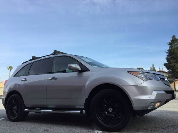2007 ACURA MDX SH-AWD WTECH WRES 4DR SUV WTE silver 2-stage unlocking doors 4wd type - full ti