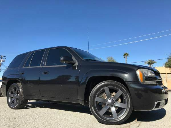 2008 CHEVROLET TRAILBLAZER CHEVY SS dimon black brand new tires all service done must see