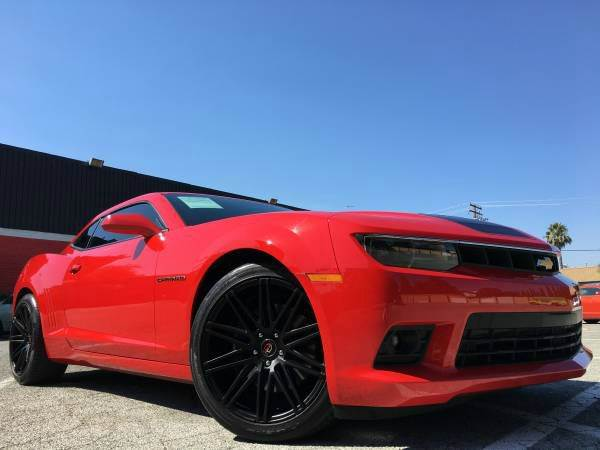 2014 CHEVROLET CAMARO SS 2DR COUPE W2SS red 2-stage unlocking doors abs - 4-wheel air filtrati