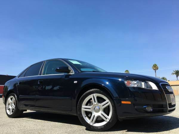 2007 AUDI A4 20T QUATTRO AWD 4DR SEDAN 2L I blue we finance  good credit  bad credit