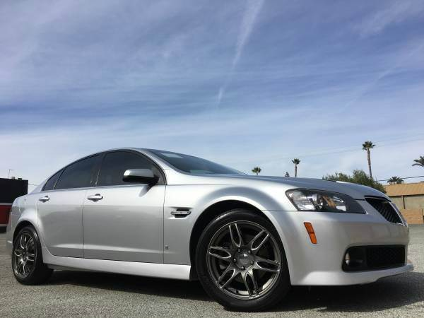 2009 PONTIAC G8 GT WBLUETOOTH 4DR SEDAN silver abs - 4-wheel airbag deactivation - occupant sen