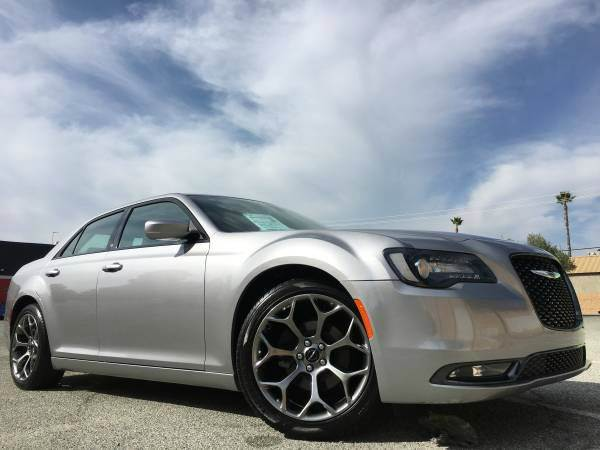 2015 CHRYSLER 300 S BLACK EDITION gray 2-stage unlocking doors abs - 4-wheel active head restra