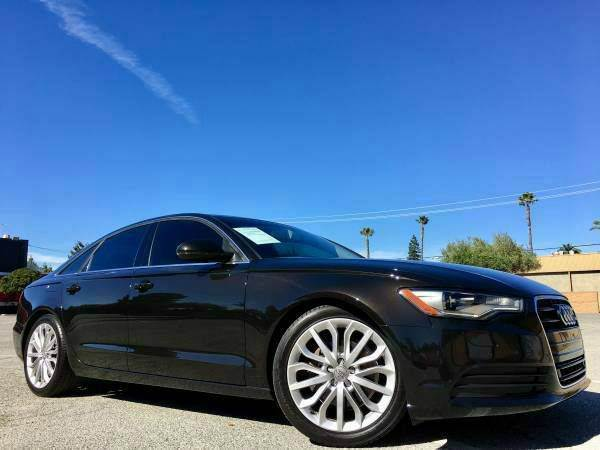 2012 AUDI A6 20T PREMIUM PLUS black we finance  good credit  bad credit  no credit