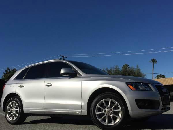 2010 AUDI Q5 32 QUATTRO PREMIUM PLUS AWD 4DR silver 2-stage unlocking doors 4wd type - full time