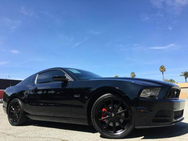 2013 FORD MUSTANG GT PREMIUM WNAVI black 2-stage unlocking doors abs - 4-wheel air filtration