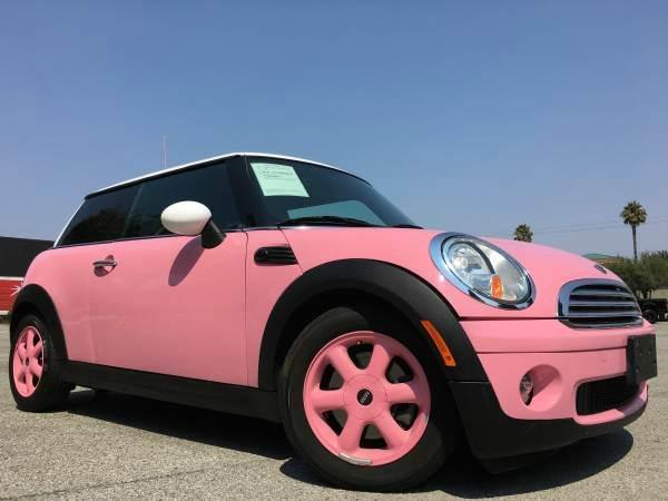 2008 MINI COOPER HATCHBACK pink 2-stage unlocking doors abs - 4-wheel air filtration airbag de