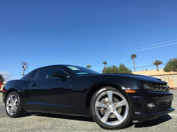 2011 CHEVROLET CAMARO SS 2DR COUPE W2SS RS PKG  LOADE black one of the kind with 2ss and rs pkg