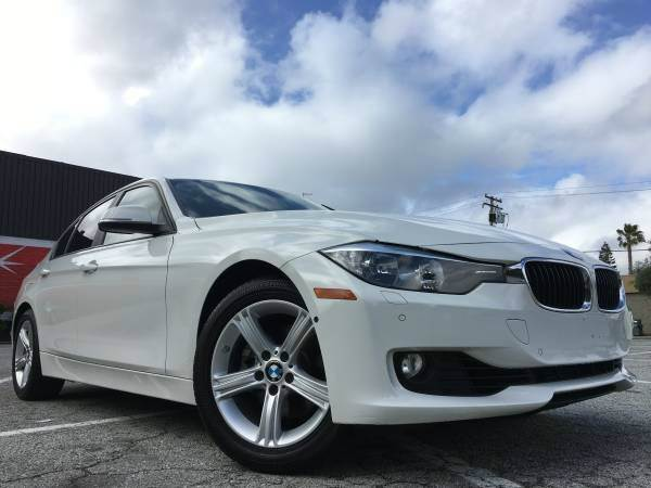 2013 BMW 3 SERIES 328ISTICK SHIFTLOADED pearl white 2-stage unlocking doors abs - 4-wheel act
