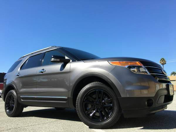 2013 FORD EXPLORER XLT AWD WWARRANTY gray 2-stage unlocking doors 4wd type - full time abs - 4