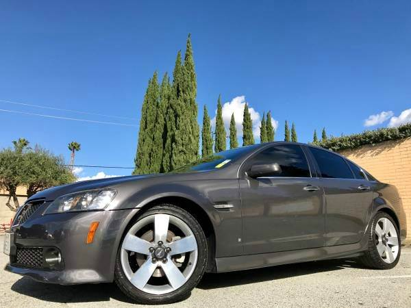2009 PONTIAC G8 GT WBLUETOOTH 4DR SEDAN gray with 4 brand new tires  all service done