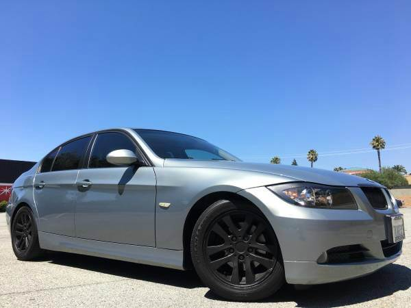 2007 BMW 3 SERIES 325I WNAVI blue 2-stage unlocking doors abs - 4-wheel air filtration - activ