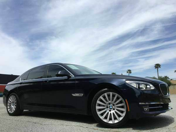 2013 BMW 7 SERIES 750LI 4DR SEDAN blue 2-stage unlocking doors abs - 4-wheel active head restrai