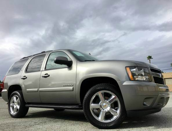 2009 CHEVROLET TAHOE LT 4X4 4DR SUV W2LT special color 4wd selector - electronic hi-lo 4wd type