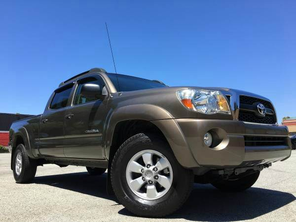 2011 TOYOTA TACOMA V6 4X4 4DR DOUBLE CAB 61 FT LB special color 4wd selector - electronic 4wd ty