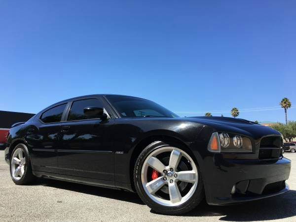 2007 DODGE CHARGER SRT-8SRT8 W38K MILES LIKE NEW black 2-stage unlocking doors abs - 4-wheel a