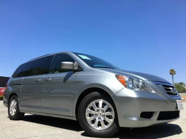 2009 HONDA ODYSSEY EX-L WDVD 4DR MINI VAN WDVD light gray 2-stage unlocking doors abs - 4-wheel